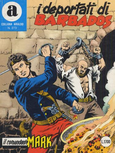il Comandante Mark collana Araldo copertina numero 273