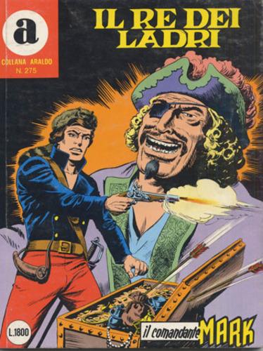 il Comandante Mark collana Araldo copertina numero 275