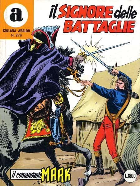 il Comandante Mark collana Araldo copertina numero 276