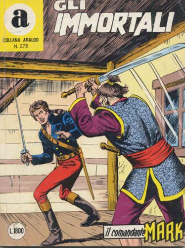 il Comandante Mark collana Araldo copertina numero 278