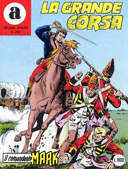 il Comandante Mark collana Araldo copertina numero 280