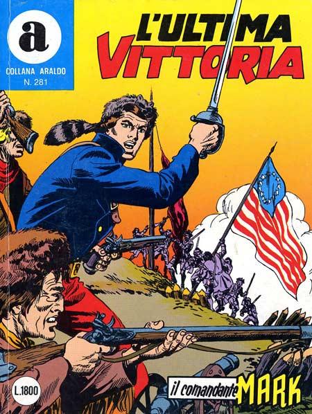 il Comandante Mark collana Araldo copertina numero 281