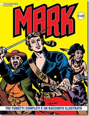 il Comandante Mark edizioni IF copertina numero 2