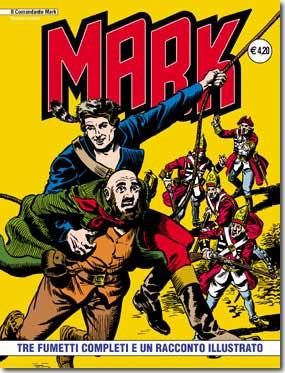 il Comandante Mark edizioni IF copertina numero 4