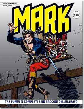 il Comandante Mark edizioni IF copertina numero 8