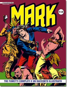 il Comandante Mark edizioni IF copertina numero 10