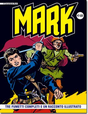 il Comandante Mark edizioni IF copertina numero 13