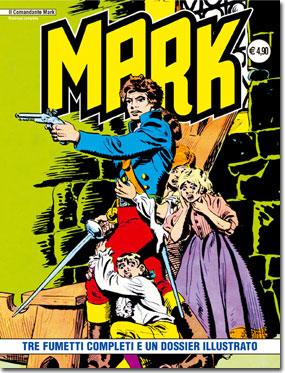 il Comandante Mark edizioni IF copertina numero 34