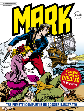 il Comandante Mark edizioni IF copertina numero 100