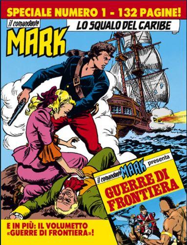 il Comandante Mark speciale bonelli copertina numero 1