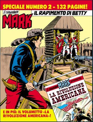 il Comandante Mark speciale bonelli copertina numero 2