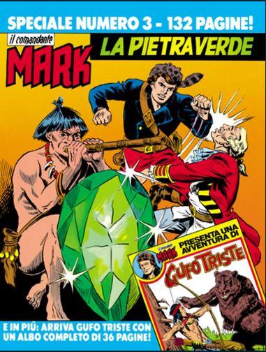 il Comandante Mark speciale bonelli copertina numero 3