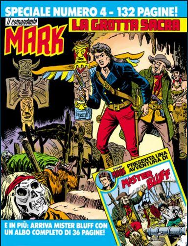 il Comandante Mark speciale bonelli copertina numero 4