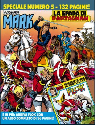 il Comandante Mark speciale bonelli copertina numero 5