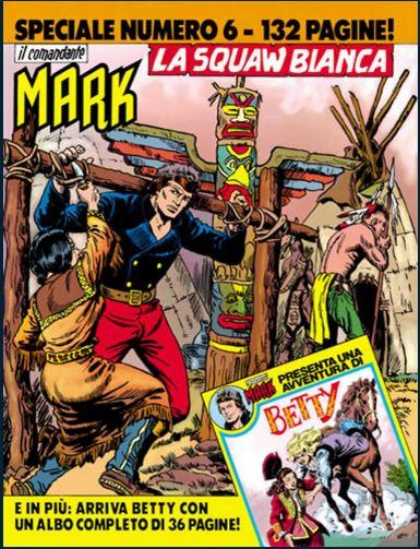 il Comandante Mark speciale bonelli copertina numero 6