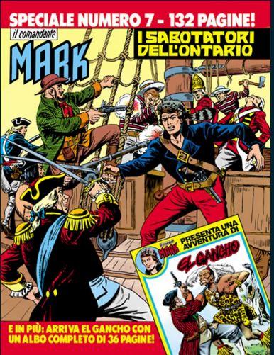 il Comandante Mark speciale bonelli copertina numero 7