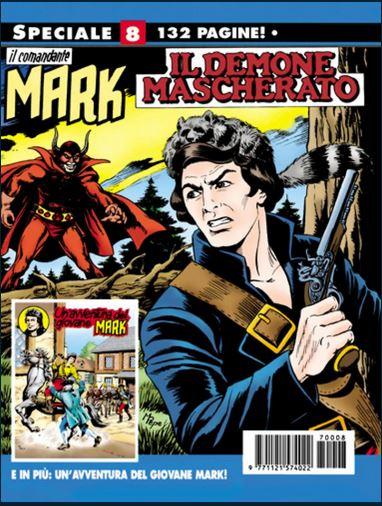 il Comandante Mark speciale bonelli copertina numero 8
