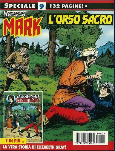 il Comandante Mark speciale bonelli copertina numero 9