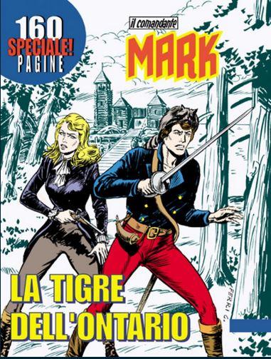 il Comandante Mark speciale bonelli copertina numero 10