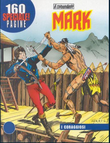 il Comandante Mark speciale bonelli copertina numero 11