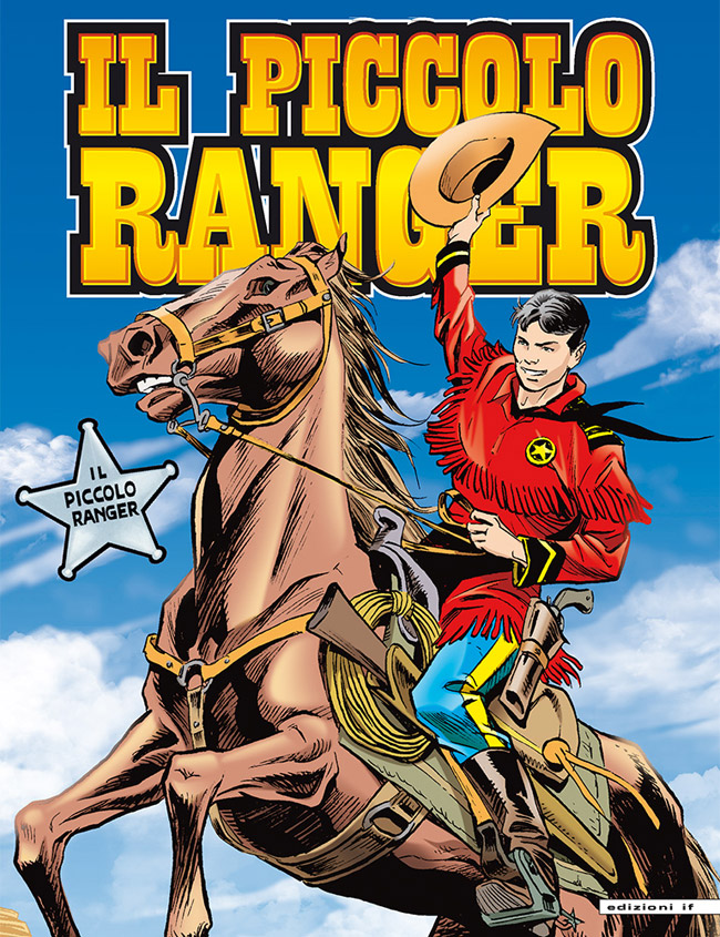 il piccolo ranger edizioni IF copertina numero 1