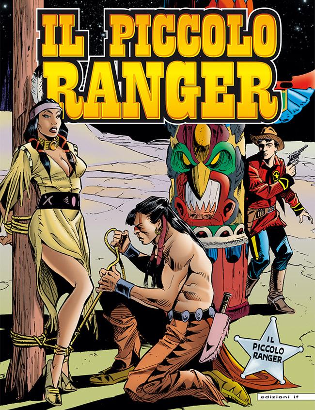 il piccolo ranger edizioni IF copertina numero 3