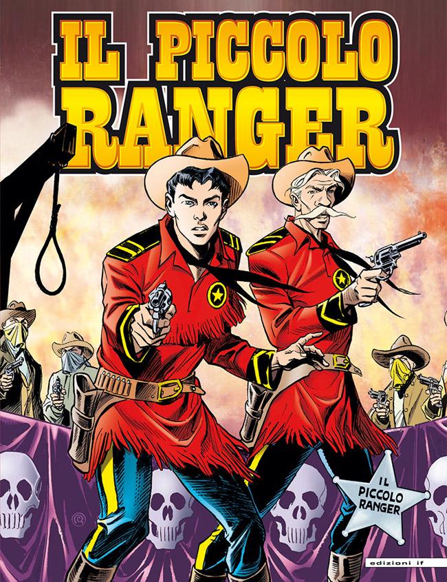 il piccolo ranger edizioni IF copertina numero 4