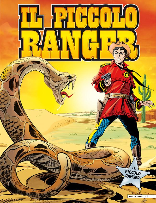 il piccolo ranger edizioni IF copertina numero 5