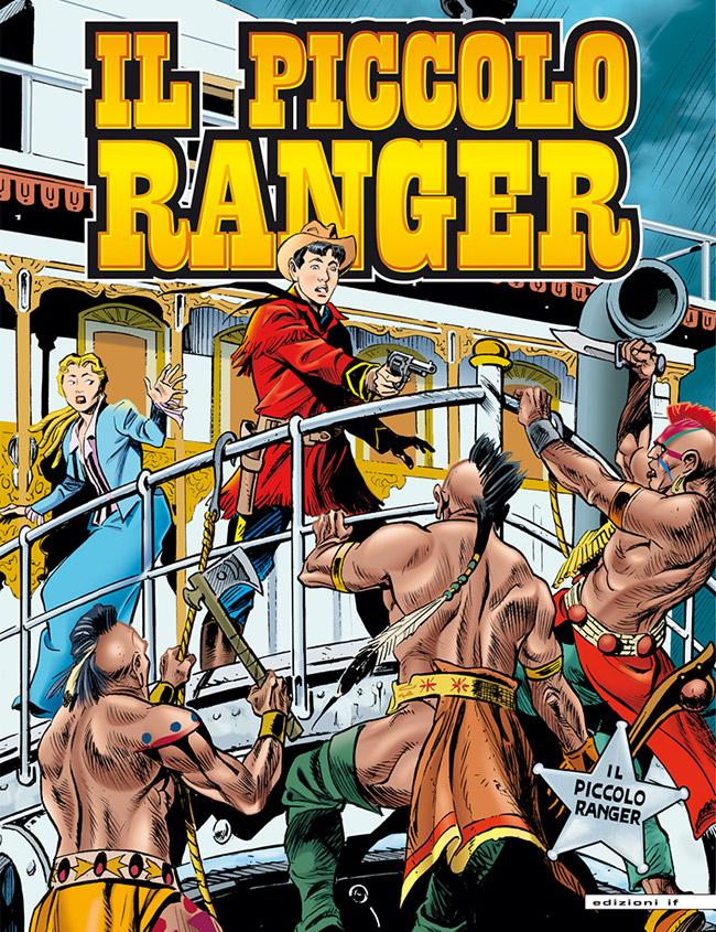 il piccolo ranger edizioni IF copertina numero 6
