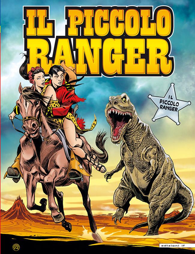 il piccolo ranger edizioni IF copertina numero 7