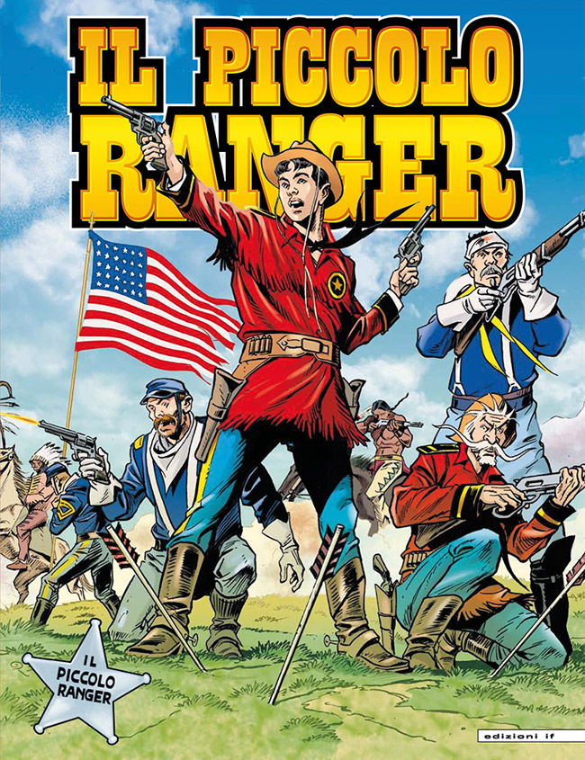 il piccolo ranger edizioni IF copertina numero 8