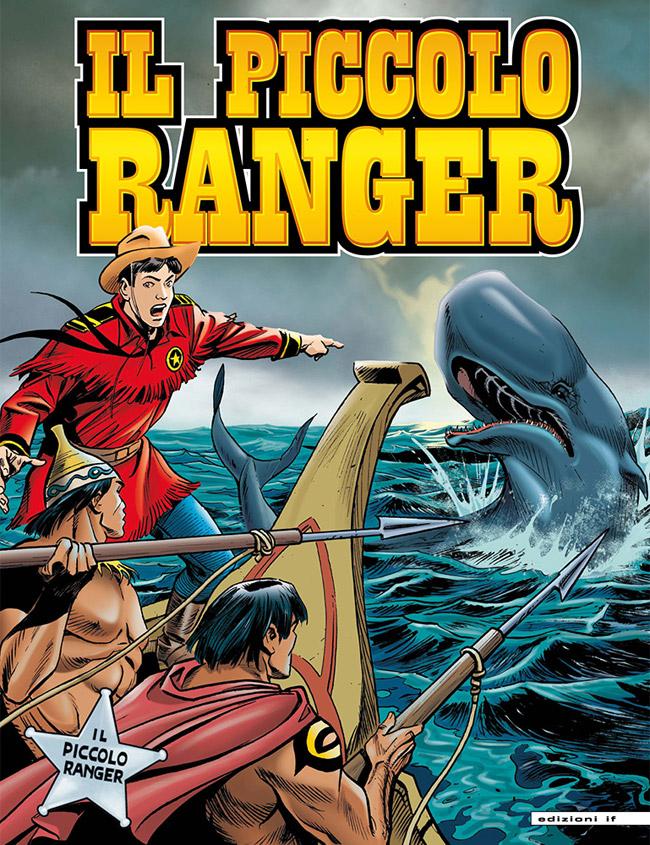 il piccolo ranger edizioni IF copertina numero 9
