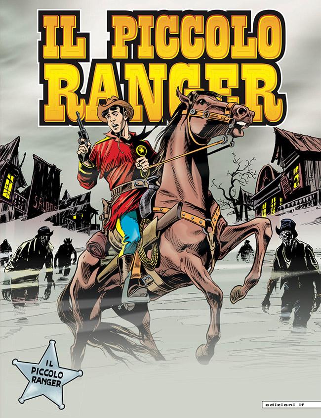 il piccolo ranger edizioni IF copertina numero 11