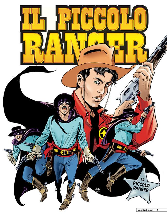 il piccolo ranger edizioni IF copertina numero 12