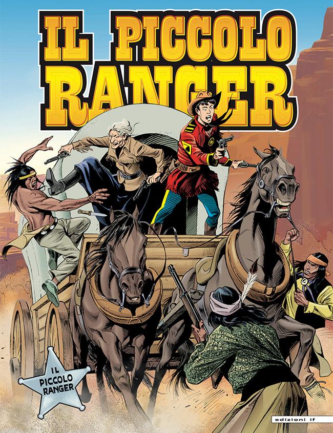 il piccolo ranger edizioni IF copertina numero 13