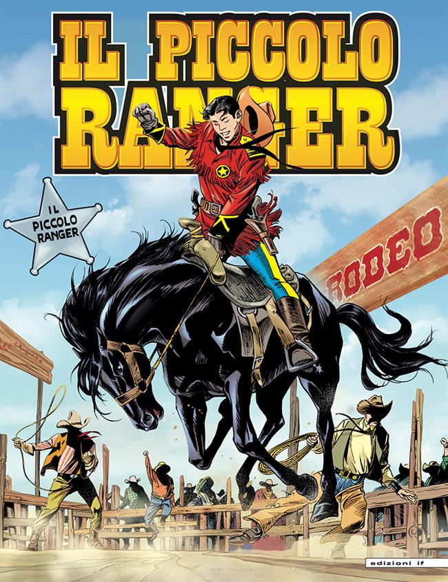il piccolo ranger edizioni IF copertina numero 14