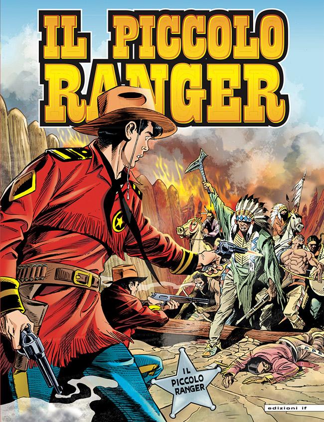il piccolo ranger edizioni IF copertina numero 15