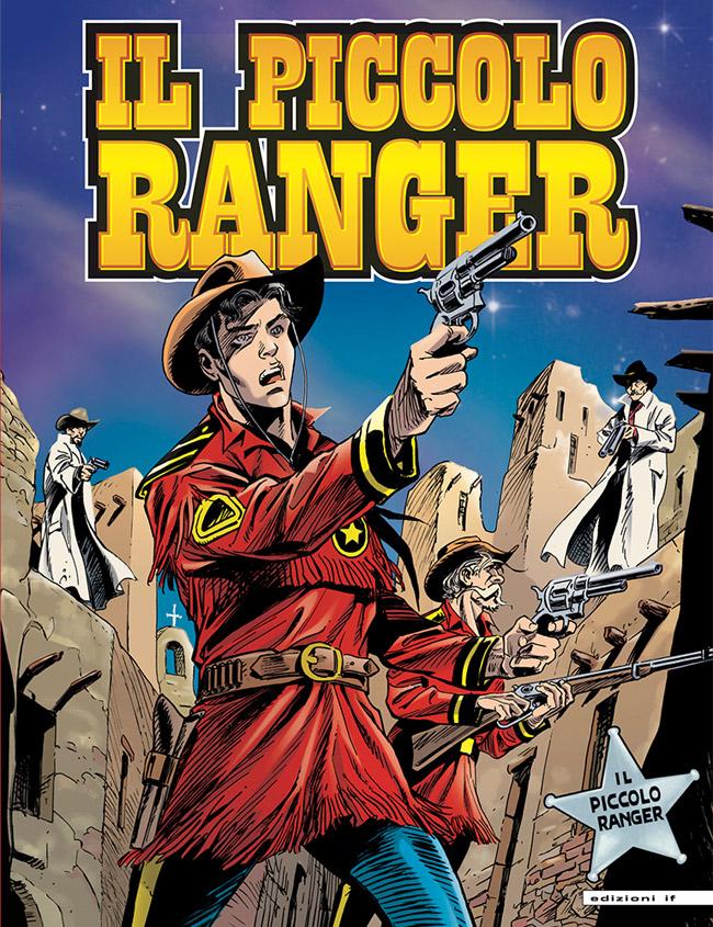 il piccolo ranger edizioni IF copertina numero 16