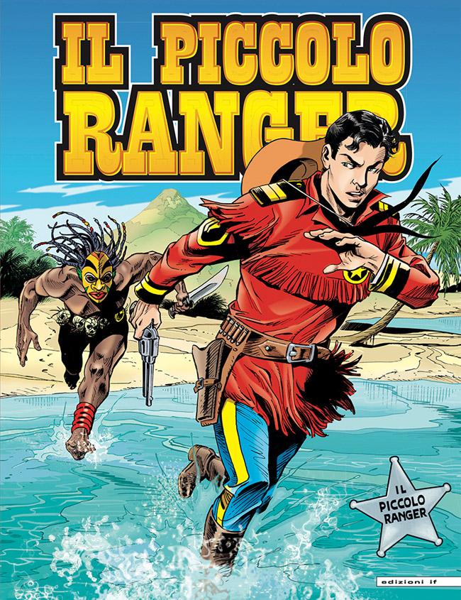 il piccolo ranger edizioni IF copertina numero 17