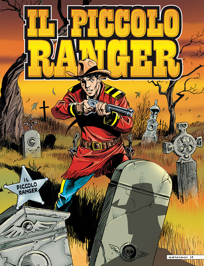 il piccolo ranger edizioni IF copertina numero 18