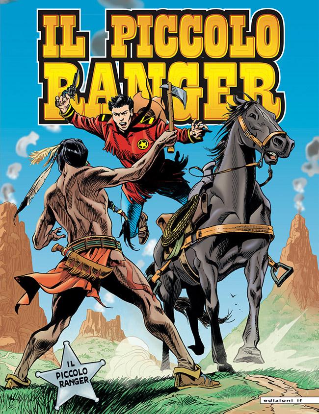 il piccolo ranger edizioni IF copertina numero 19
