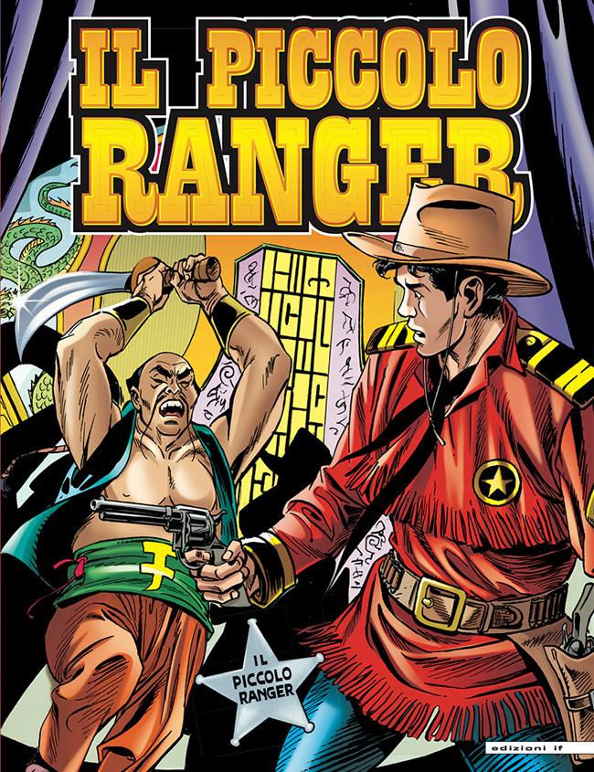 il piccolo ranger edizioni IF copertina numero 20