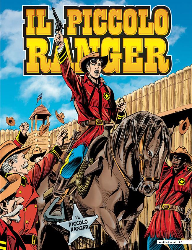 il piccolo ranger edizioni IF copertina numero 21