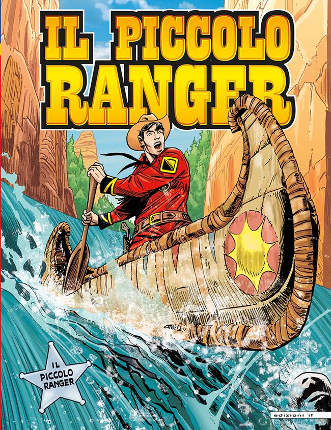 il piccolo ranger edizioni IF copertina numero 22