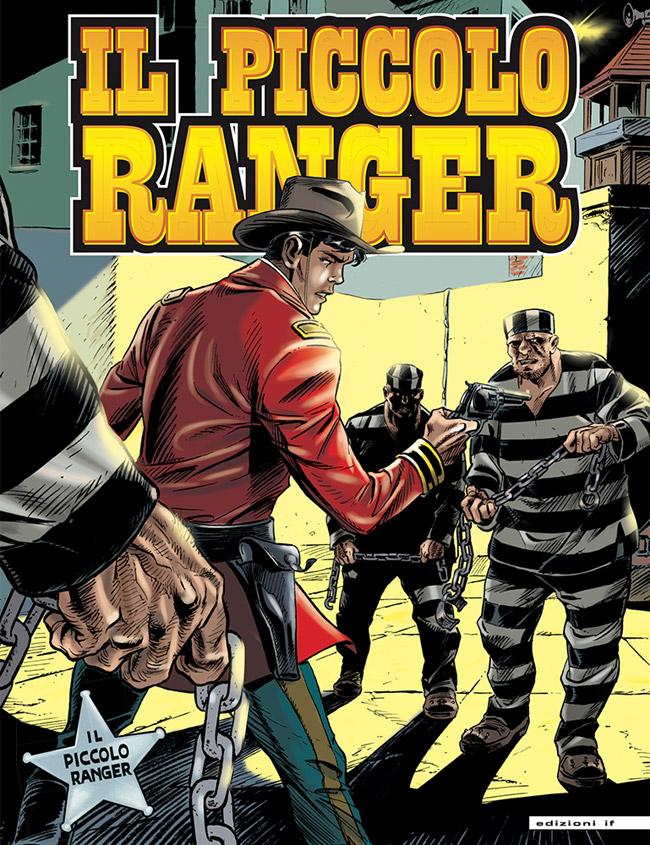 il piccolo ranger edizioni IF copertina numero 25