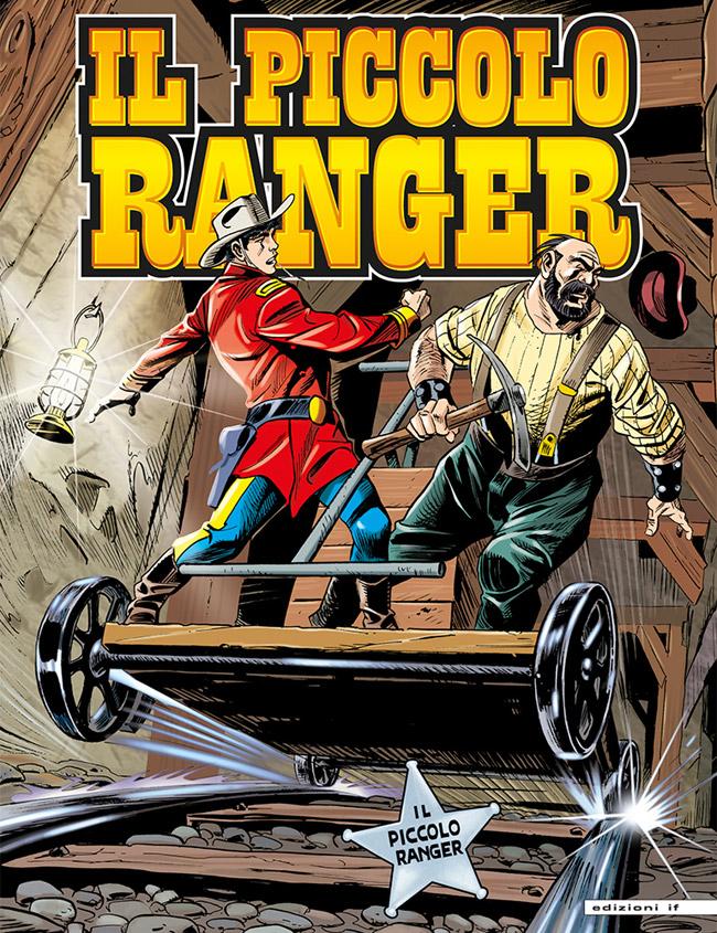 il piccolo ranger edizioni IF copertina numero 26