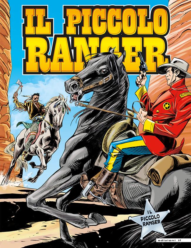 il piccolo ranger edizioni IF copertina numero 33