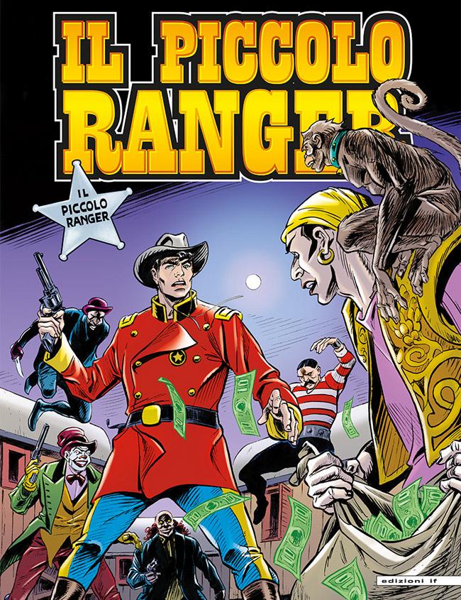 il piccolo ranger edizioni IF copertina numero 34