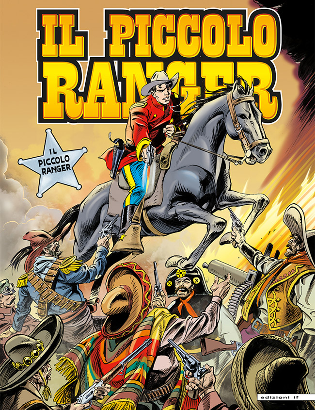 il piccolo ranger edizioni IF copertina numero 35
