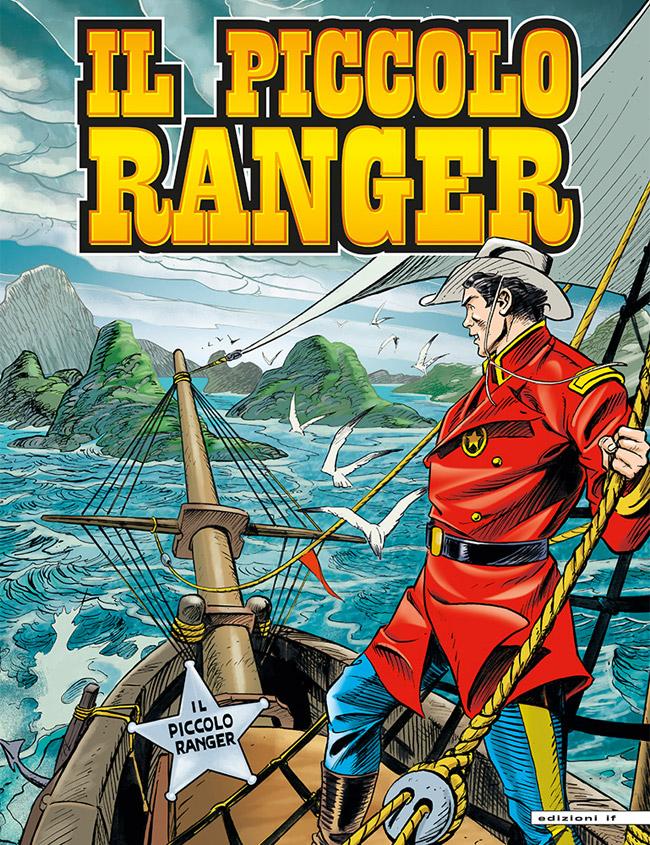 il piccolo ranger edizioni IF copertina numero 37